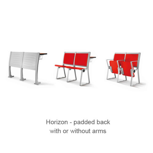 Horizon 918 - padded back with or without arms