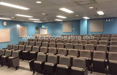 leadcom seating auditorium seating installation Canada VGH