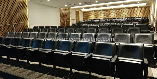 leadcom seating auditorium seating installation Guatemala's Tourism Authorities