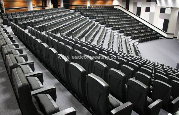 leadcom seating auditorium seating installation Walter Sisulu University SA